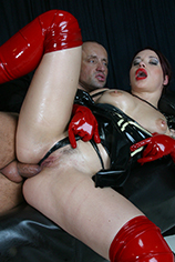 Preview Inflagranti - Big juicy ass in a latex skirt